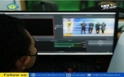 Seni Broadcasting dan Film mengadakan kegiatan Festival Karya Pelajar online